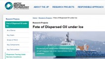 Fate-of-Dispersed-Oil-under-Ice-Arctic-Response-Technology