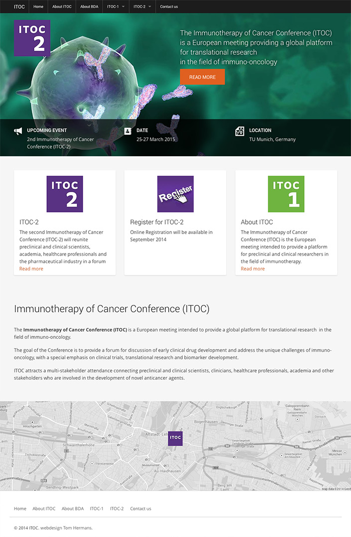 ITOC Immunotherapy of Cancer Conference