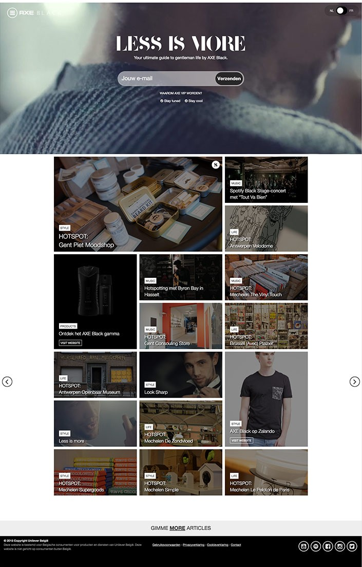 Axe-Less-is-more